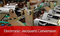 electronic jacquard conversion